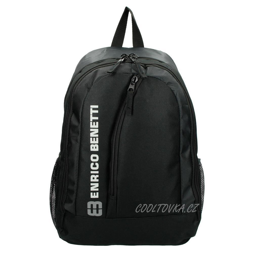 e2c4f79c77 Enrico Benetti sportovní batoh Texas 47040 černý 28l  cooltovka.cz