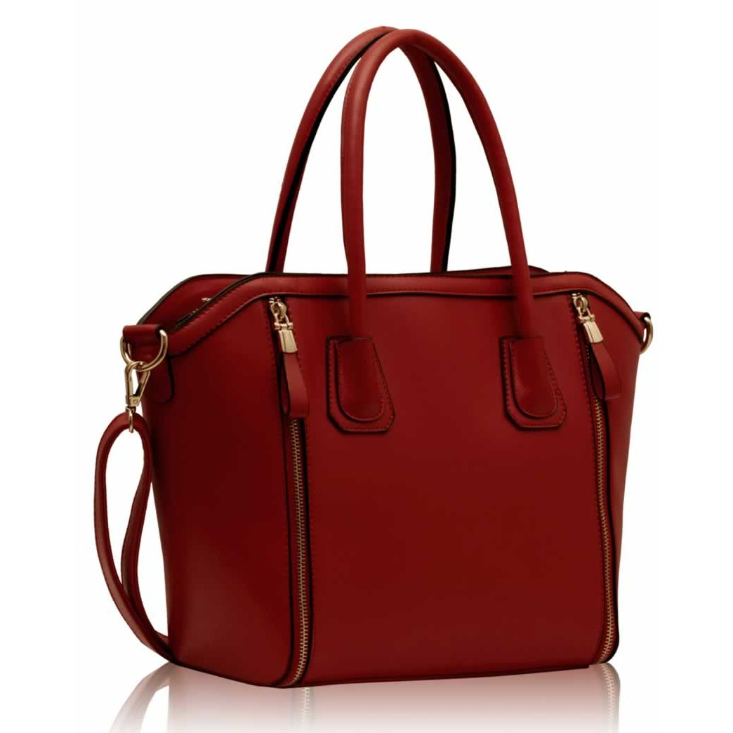 4901337454f0 Kabelka LS Fashion LS00146 červená