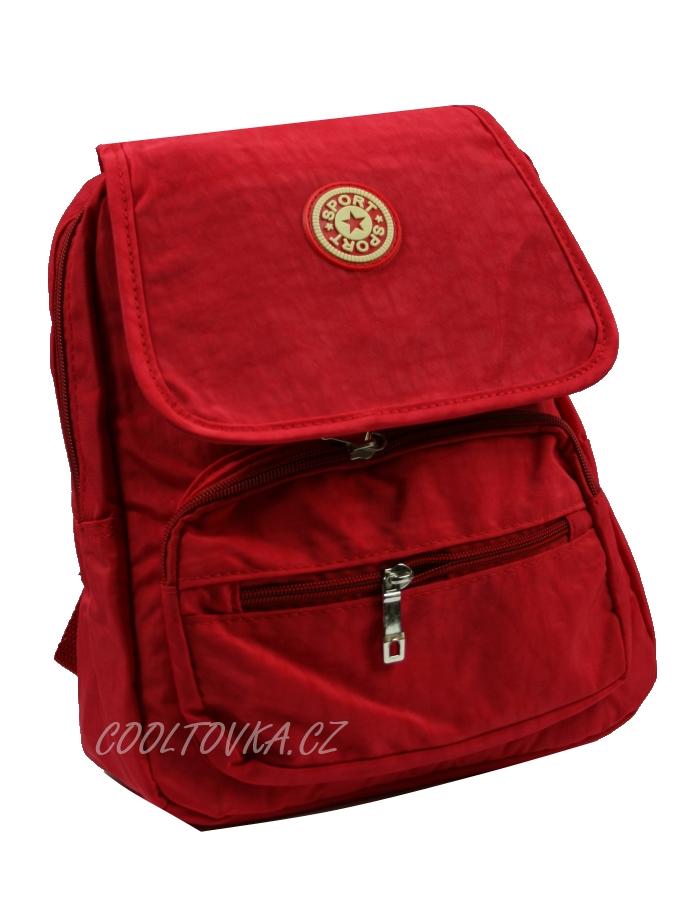 bf28b7cfb1a Geora textilní sportovní batoh 213 červený 8l   cooltovka.cz