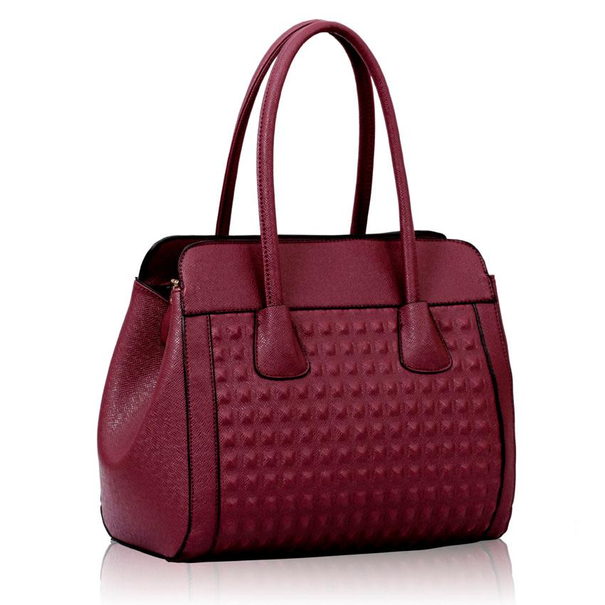 Kabelka LS Fashion LS00141 fialová  f6e379823cd