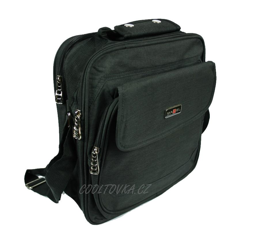 af554badf8 Mahel pánská taška přes rameno 8601-MH černá/ Cooltovka.cz