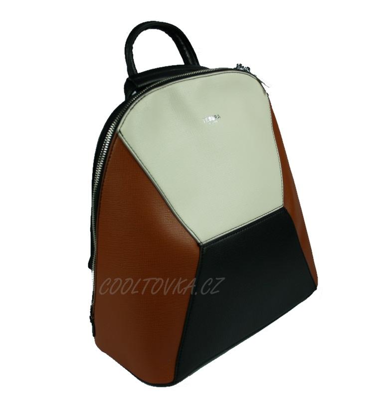 Tessra dámský kabelko-batoh 3395-BB hnědý empty 97b7c6cbf2