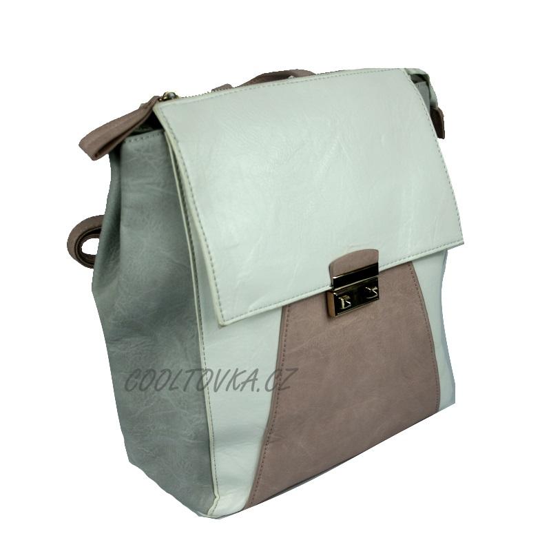 Bella Belly dámský kabelko-batoh 3311-BB bílý empty d5a7a2c9c8