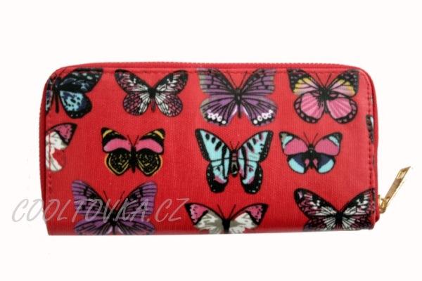 Dámská peněženka s motýly empty 42a4ac6fd7