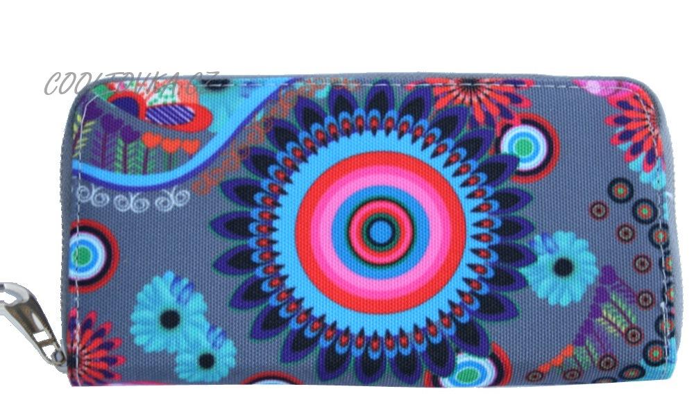 Dámská barevná peněženka 8011 grey empty 7e1b7b3bc7