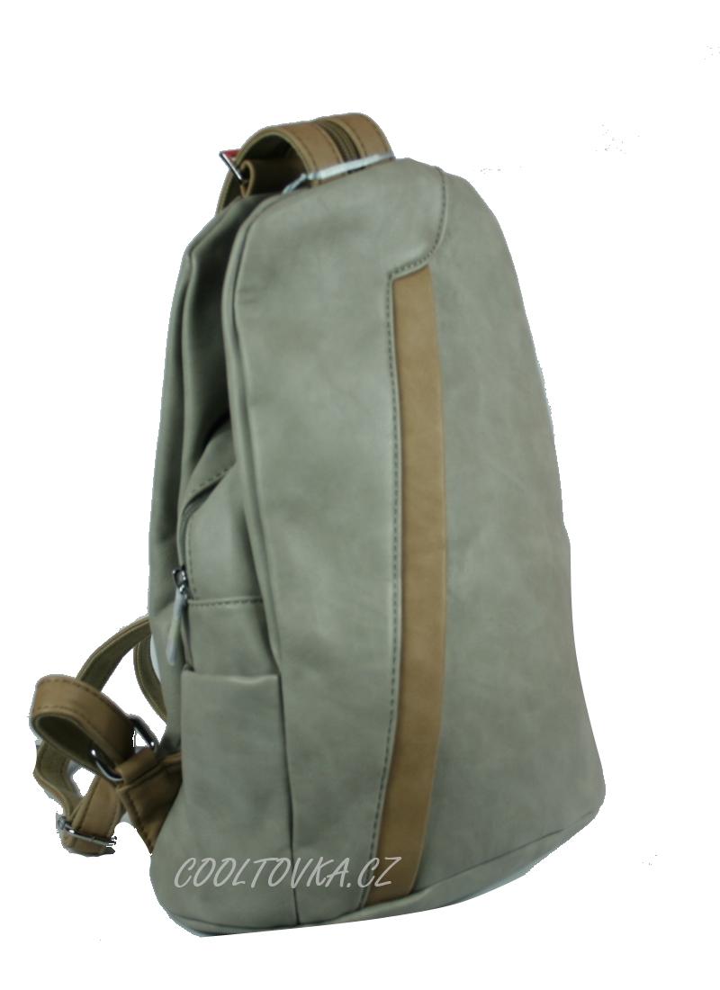 Bella Belly dámský městský batoh šedý 2033-BB empty 515f26c9ba