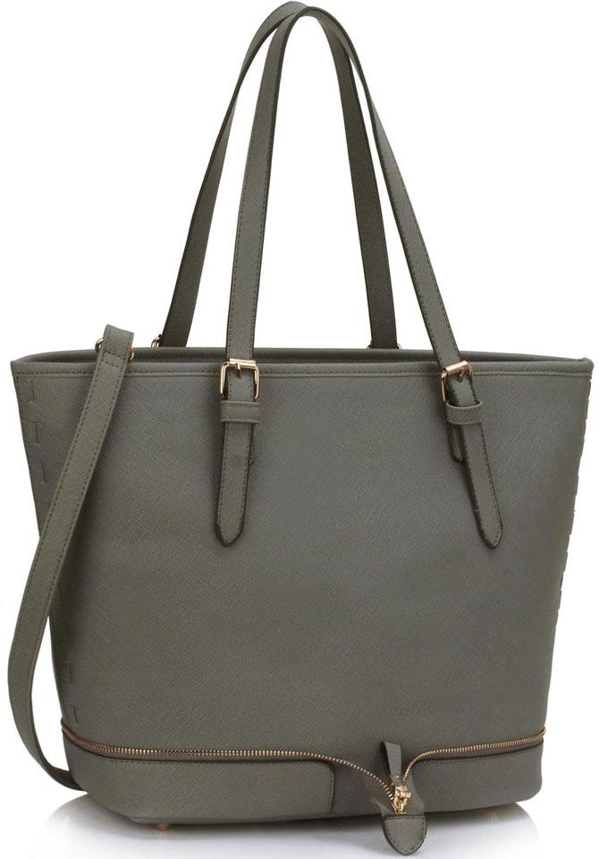 LS Fashion kabelka přes rameno LS00315A šedá acc7346b51