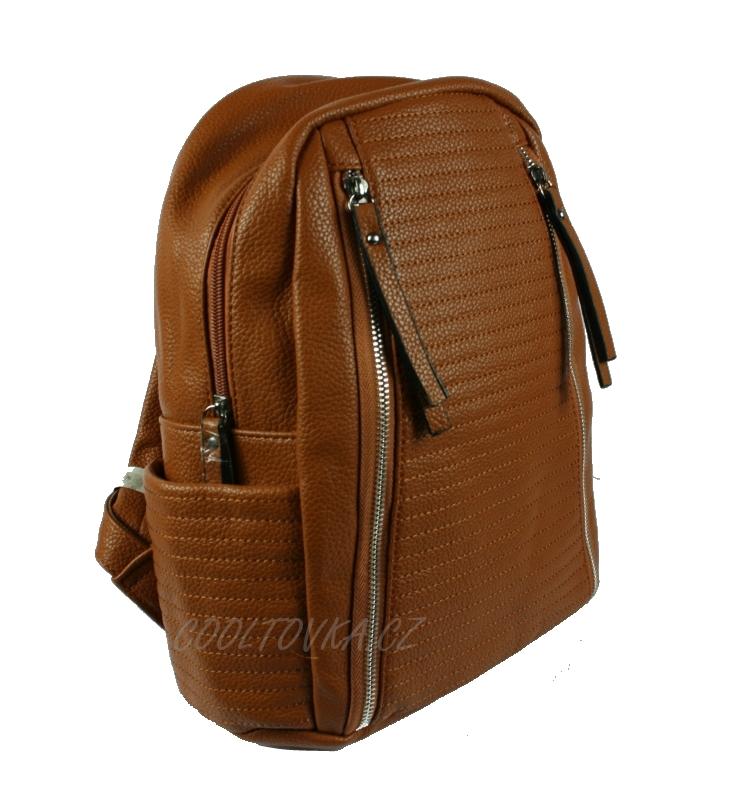 Dámský městský batoh Bella Belly 2606-BB hnědý empty 2f8e7e1fdd