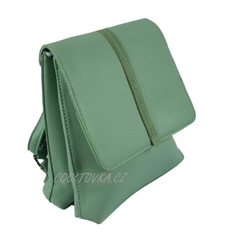 Dámský městský batoh Bella Belly 3298-BB zelený empty 250b1116f2