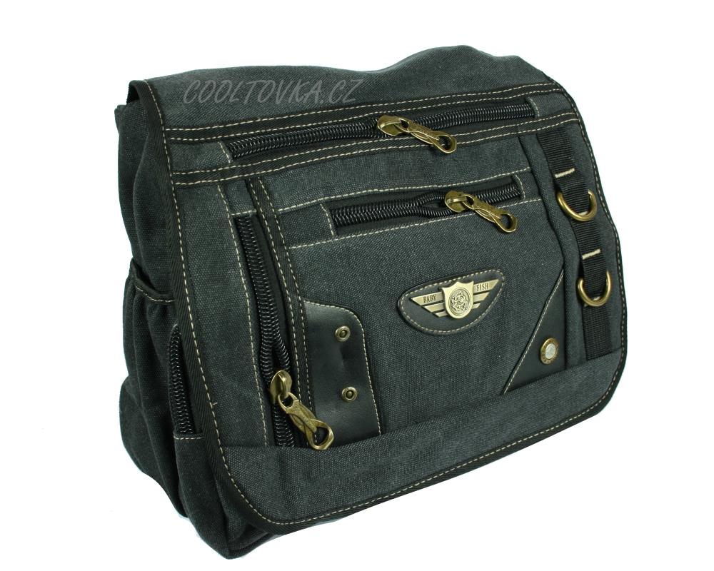 8096305bd0 Pánská taška přes rameno BA25 černá empty